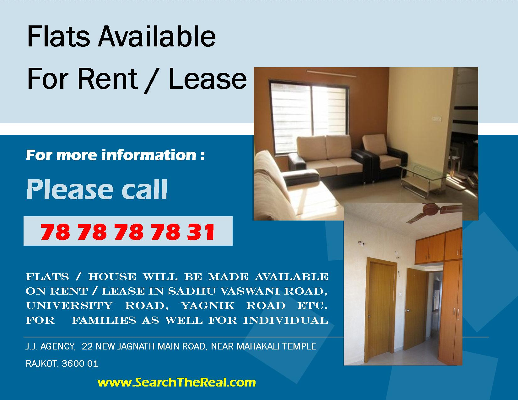 Apartment For Rent Flyer